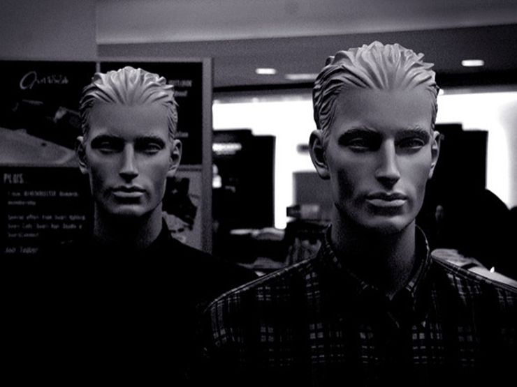 horror shorts mannequins