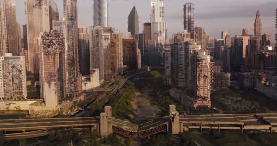 dystopian evolution Divergent movie