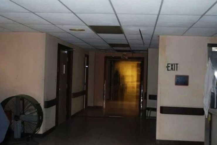 ghostly apparitions hospitals South Pittsburg Hospital