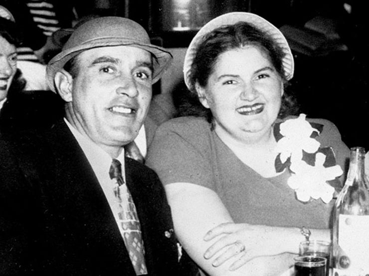 Raymond Fernandez with Martha Beck as Mr. & Mrs. Charles Martin