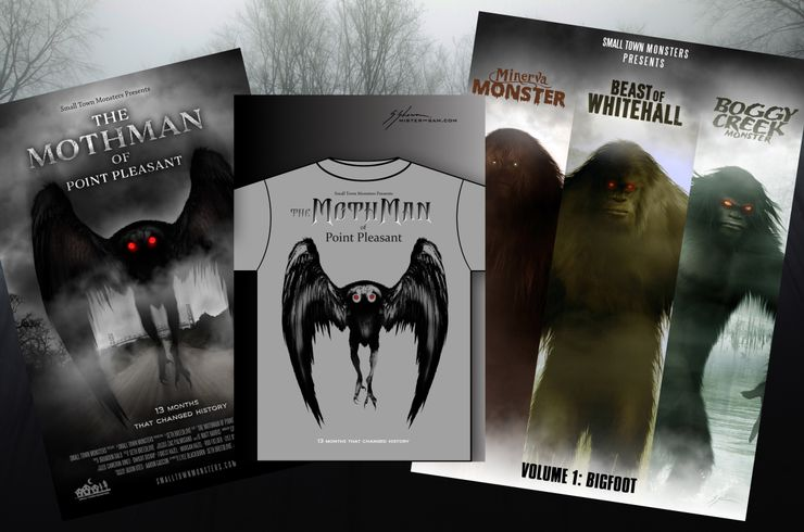Small Town Monsters Mothman sweepstakes prize pack