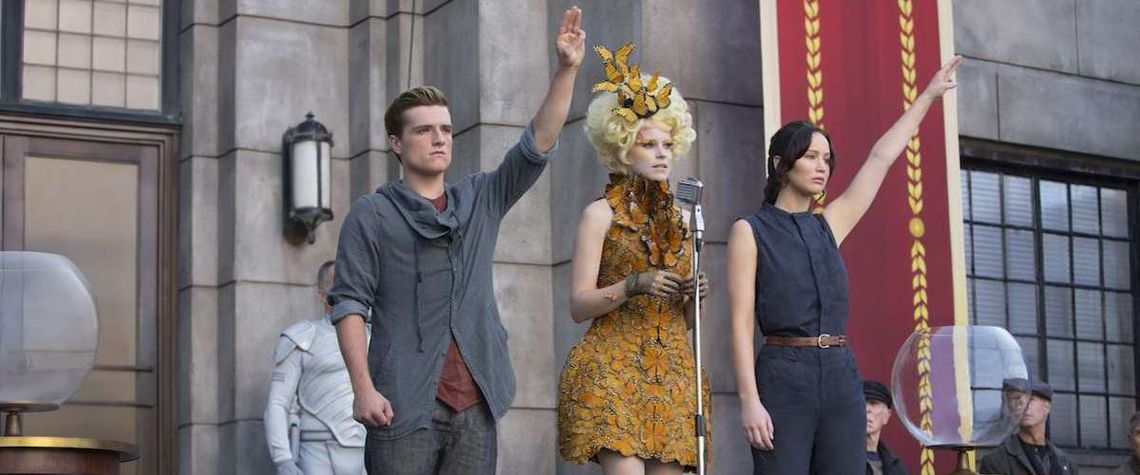 still from Hunger Games Catching Fire