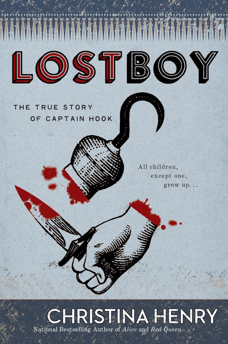 Lost Boy giveaway book cover Christina Henry