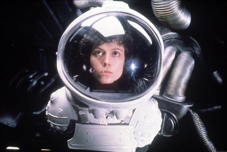 badass female characters Ellen Ripley Alien franchise