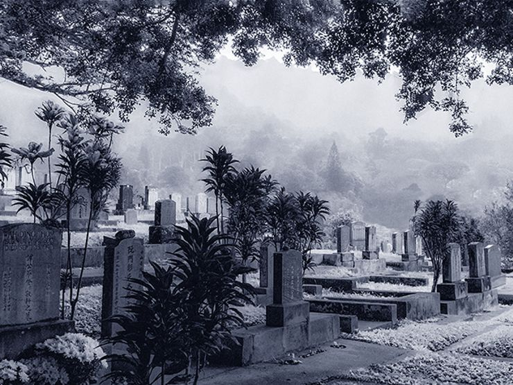 haunted cemetery