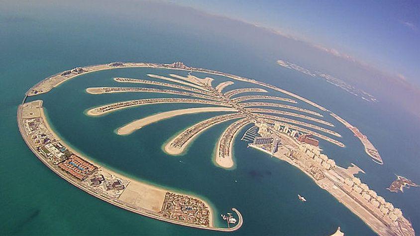 romantic beach getaways Palm Jumeirah
