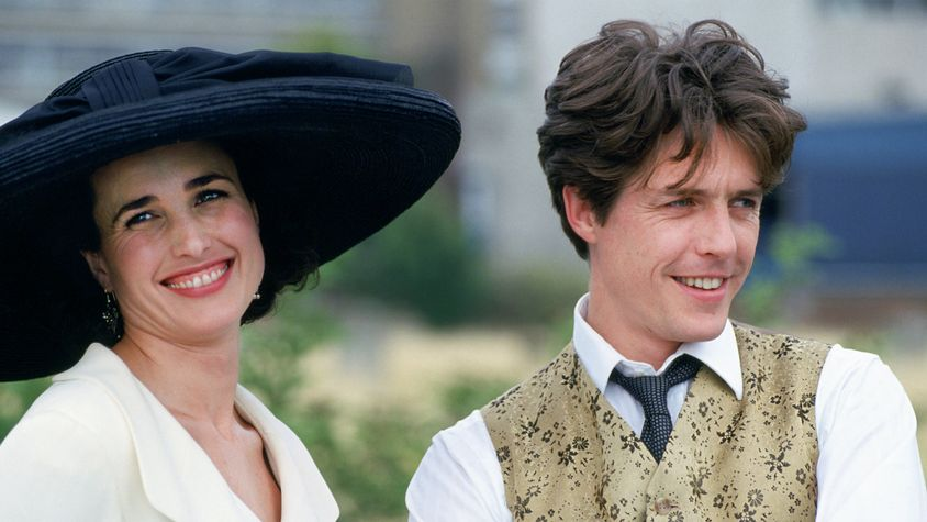 romantic comedies 90s Four Weddings and a Funeral
