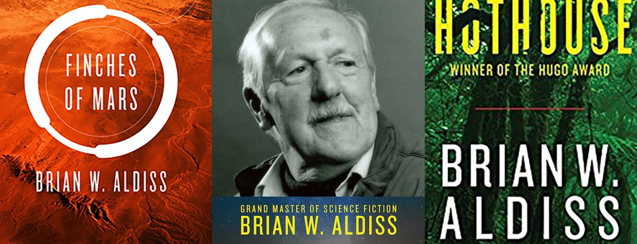 Grand Master Brian W. Aldiss Passes Away at 92