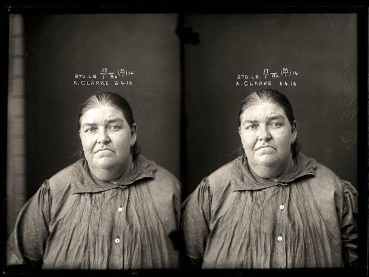 justice & police museum female mugshot