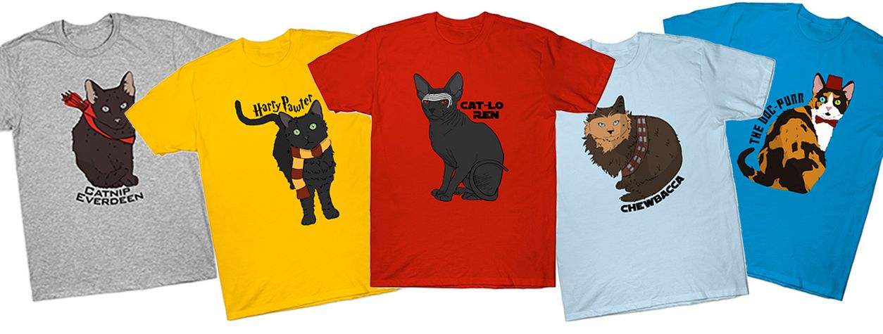 Purr-fect Cat Shirts for Geeks