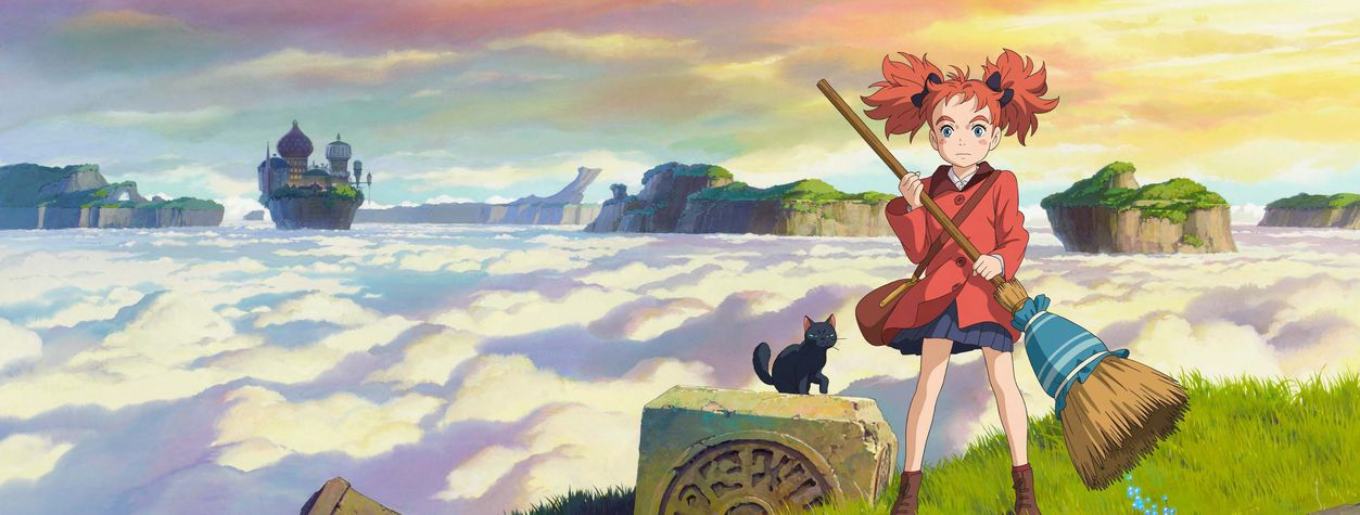 Take a Sneak Peek at the Stunning New Fantasy <em>Mary and The Witch's Flower</em>
