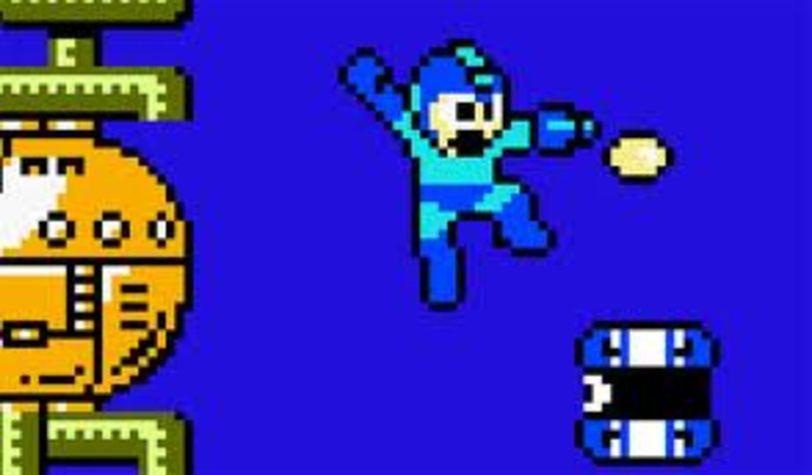 sci-fi games Mega Man