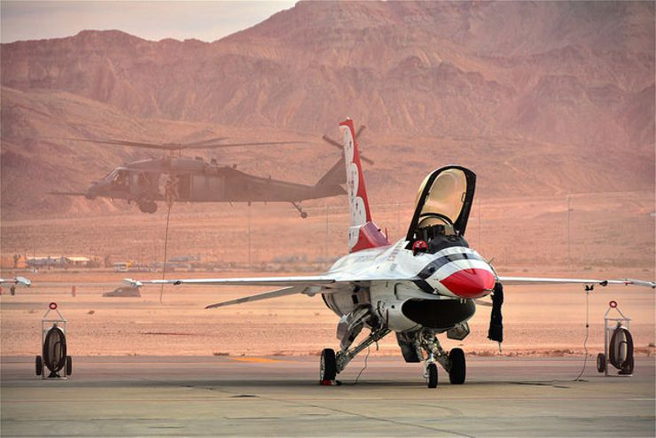 best vacation spots Fallout Nellis Air Force Base