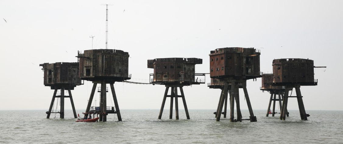 The Long, Strange History of the Maunsell Sea Forts