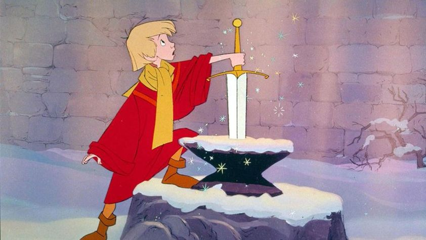 Arthurian legend adaptations Sword in the Stone
