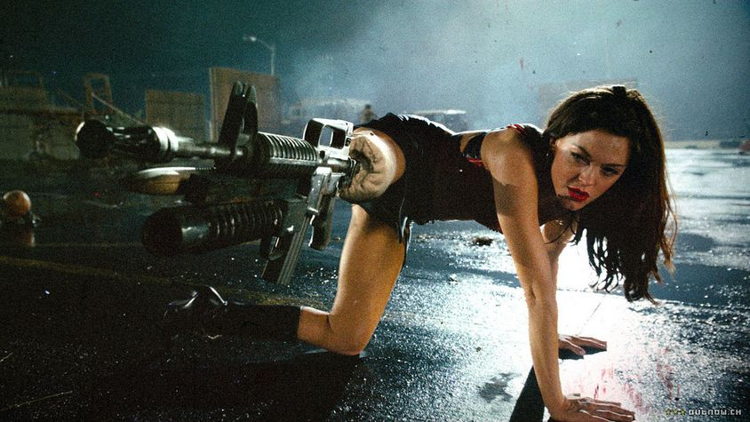 badass female characters Cherry Darling Planet Terror