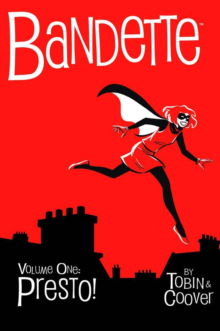 female superheroes independent comics bandette dark horse