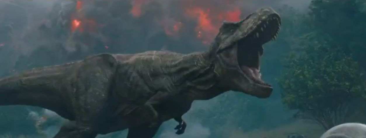 Chaos Erupts in Volcanic First Trailer for<em> Jurassic World: Fallen Kingdom </em>