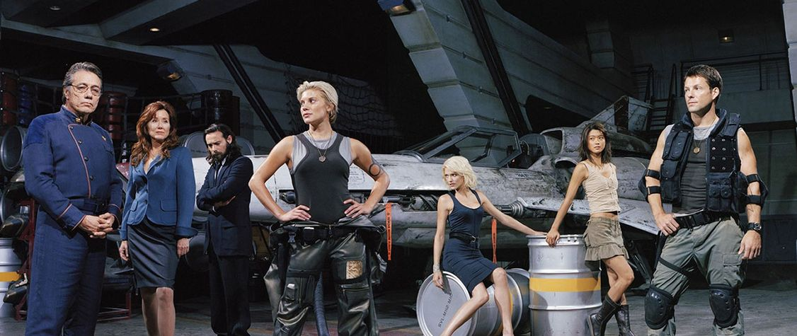 "How ""Battlestar Galactica"" Brought Me Back to Earth"