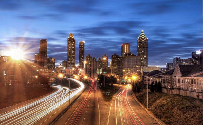best vacation spots Atlanta The Walking Dead