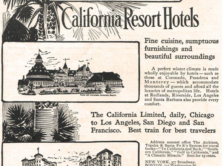 Hotel del Coronado newspaper