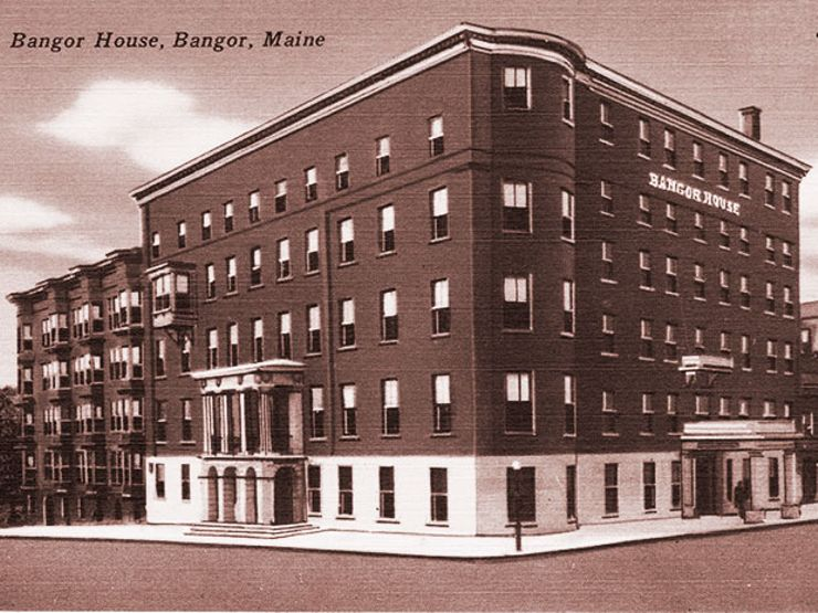 The Bangor House, Maine