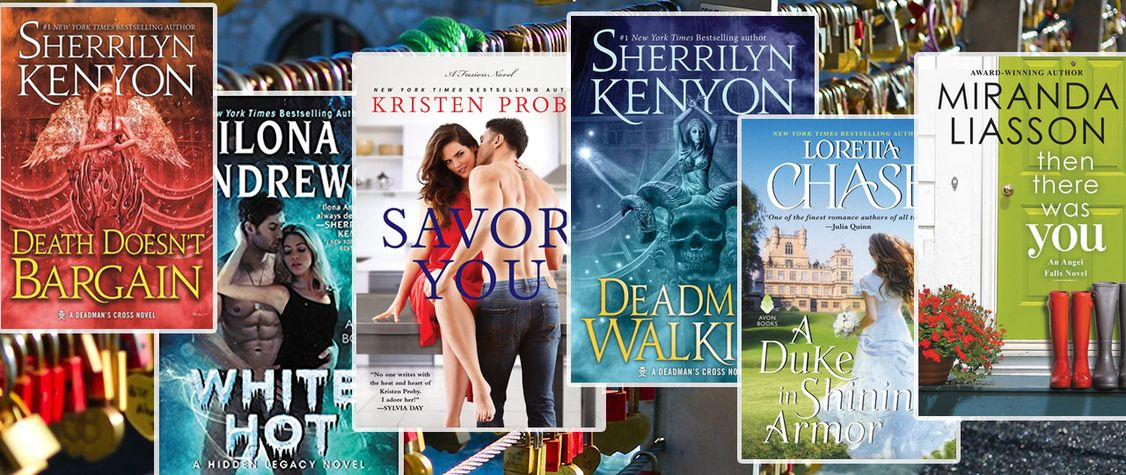 [CLOSED]:Giveaway: Win 6 Steamy Romance Reads