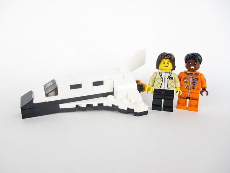 women of nasa lego mae jemison minifig