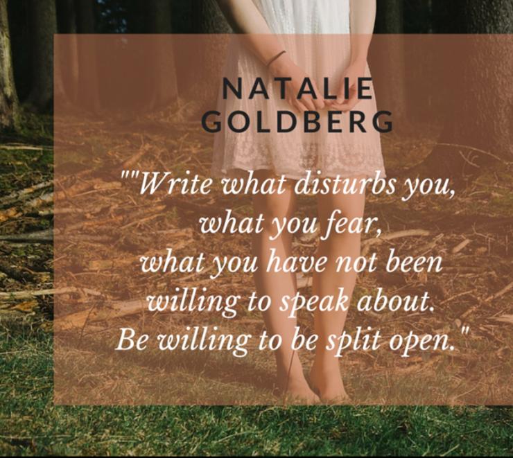 Natalie Goldberg Quote