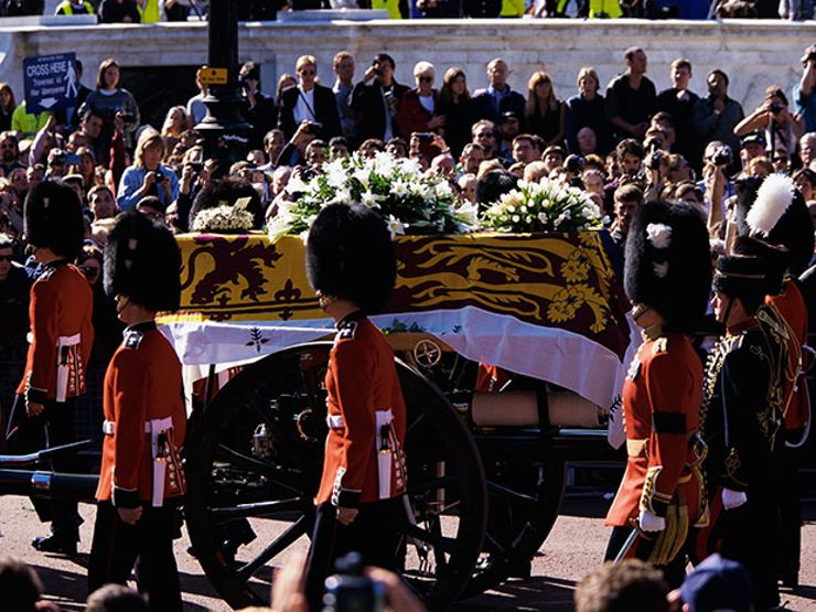 Princess Diana's Funeral Procession