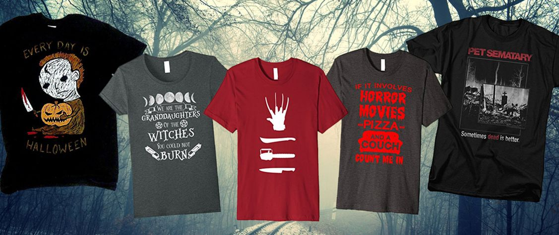 9 Horror Shirts for a Twisted Spring