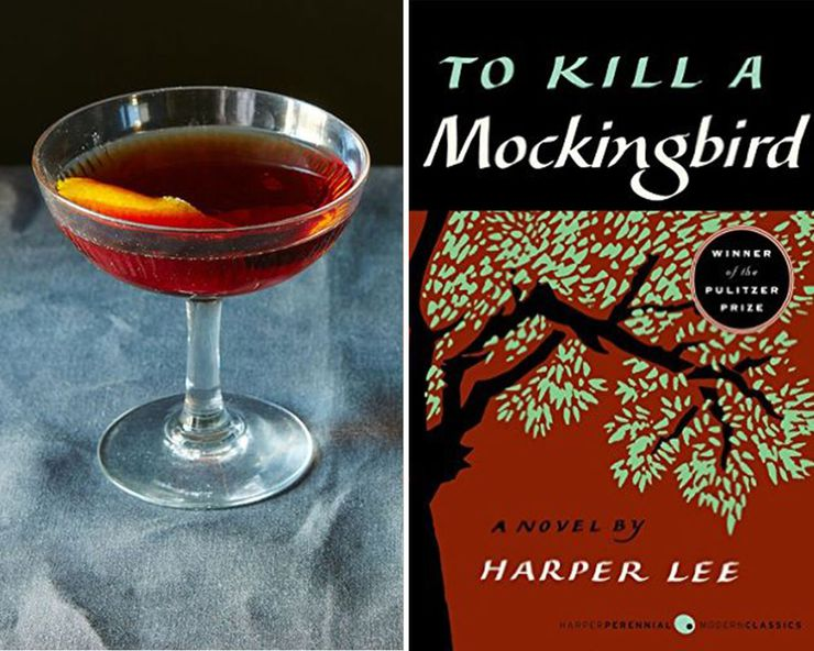 Literary Inspired Cocktails To Kill A Mockingbird