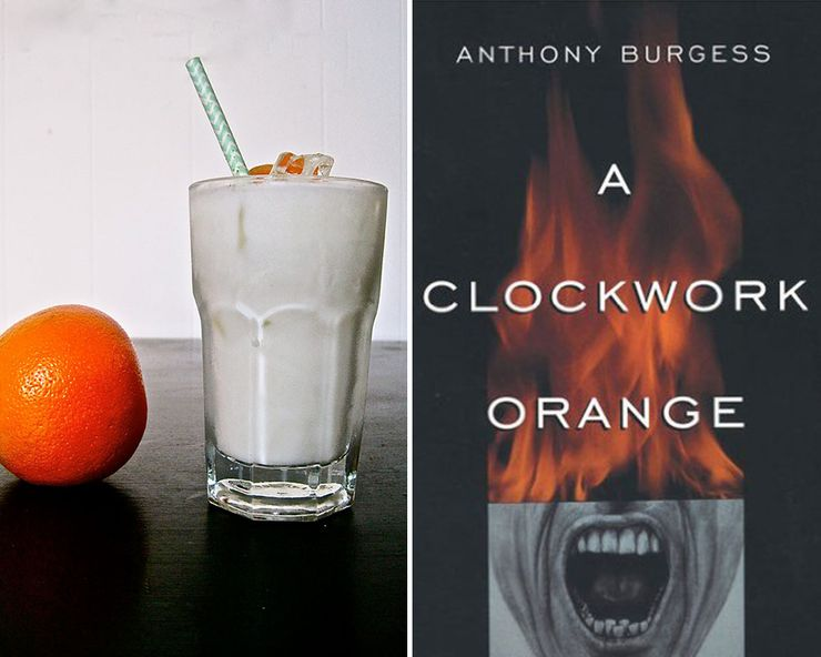 Literary Inspired Cocktails A Clockwork Orange