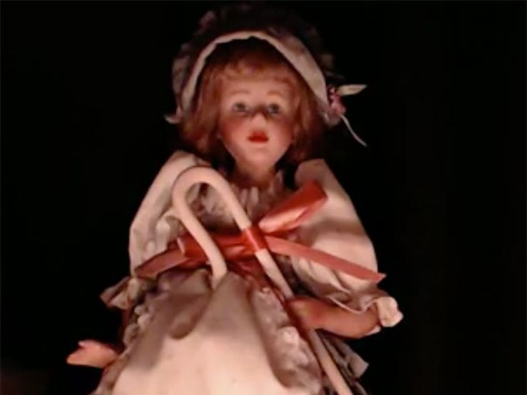 LIVE CAM: Meet Ann, Our Haunted Doll