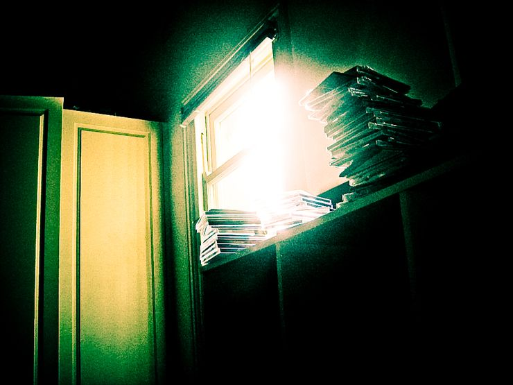 light coming from window