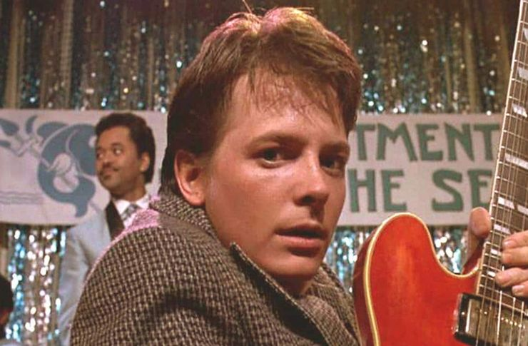 time travel movies back to the future michael j fox