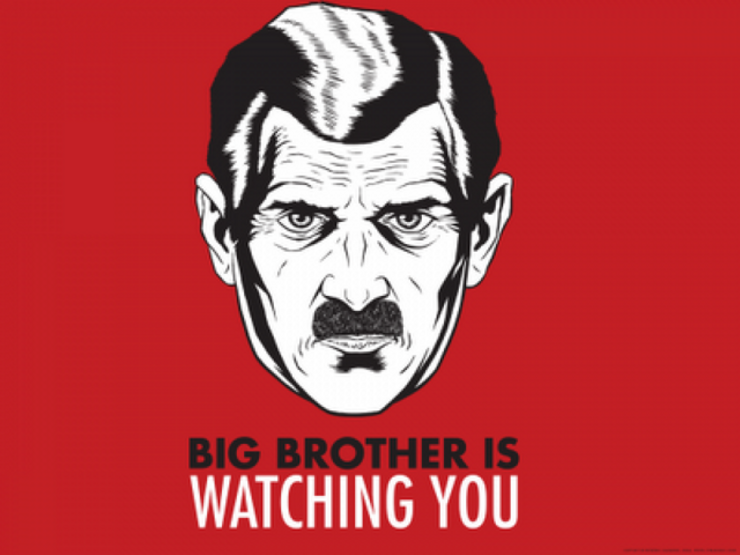 15 insightful george orwell quotes big brother is watching you