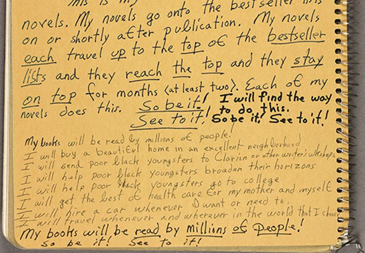 octavia butler facts notebook