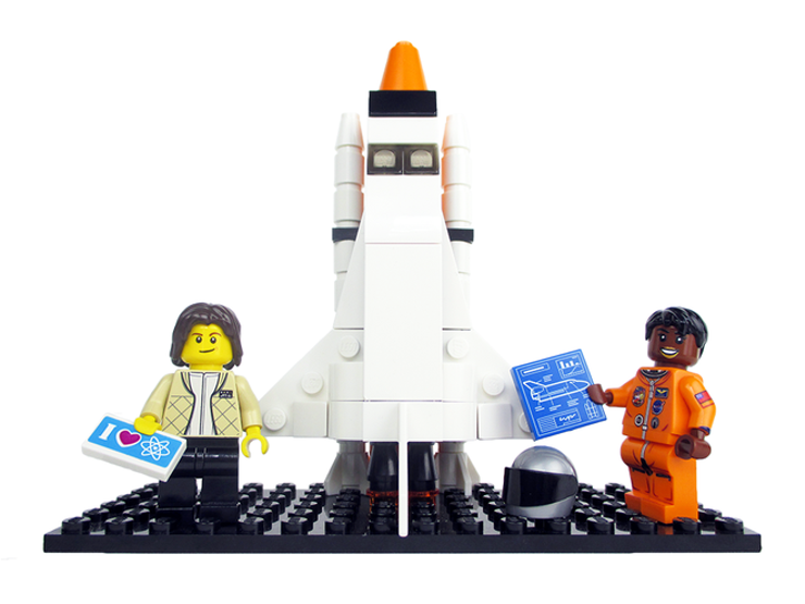 women of nasa lego sally ride