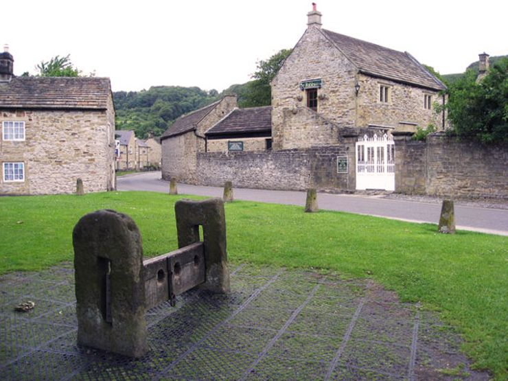 eyam plague village