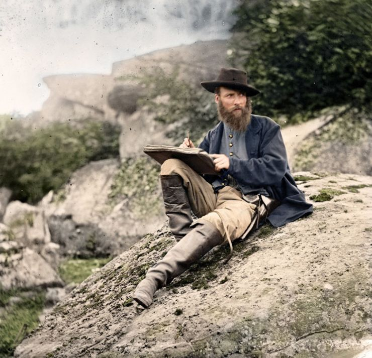 alfred r waud colorized