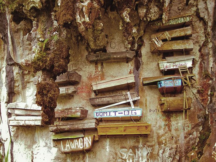 mysterious destinations hanging coffins sagada