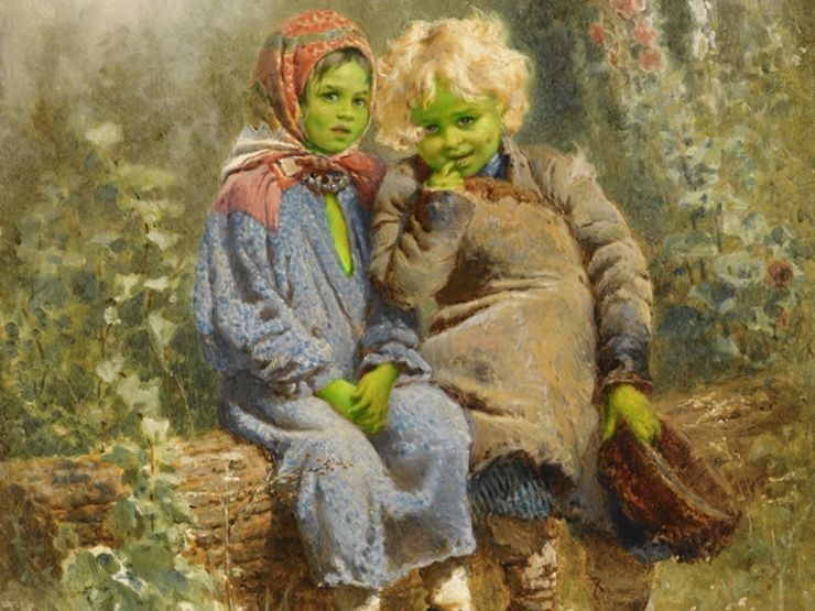 The Fascinating Tale of the Green Children of Woolpit