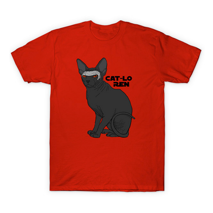 cat shirts for geeks Cat-Lo Ren
