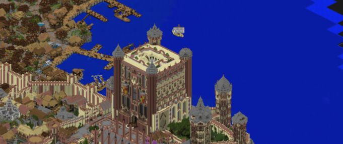 "Maps for ""Minecraft"" Inspired by Sci-Fi and Fantasy Worlds"