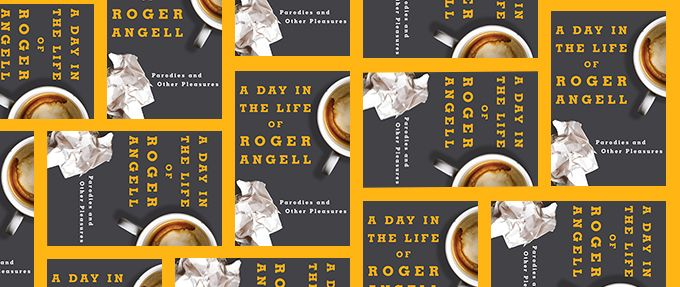 a day in the life of roger angell book cover collage