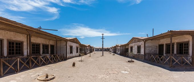 chile's ghost towns