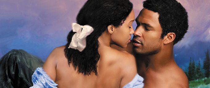 cover of destiny's embrace, by black romance author beverly jenkins