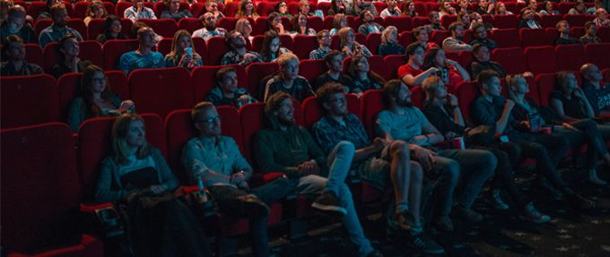 audience in movie theater