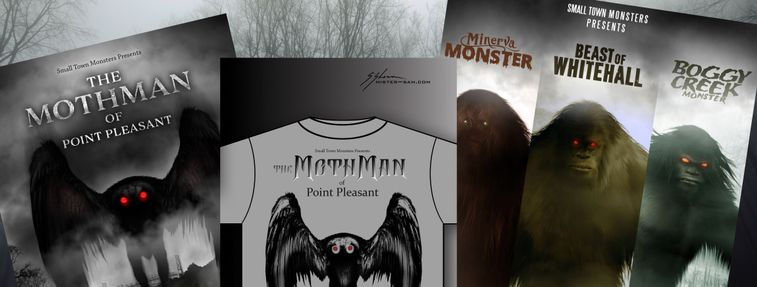 Mothman giveaway Small Town Monsters